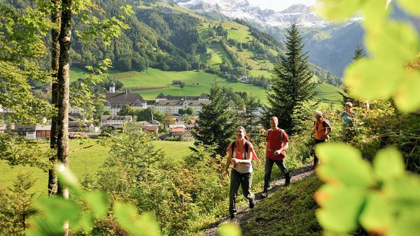 Hiking in Engelberg